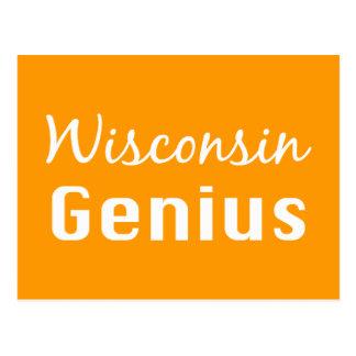 Wisconsin Genius Gifts Postcard
