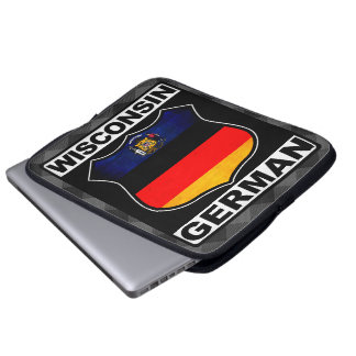 Wisconsin German American Laptop Case