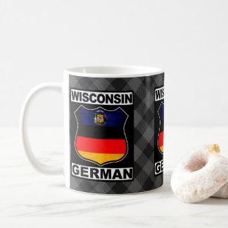 Wisconsin German American Mug