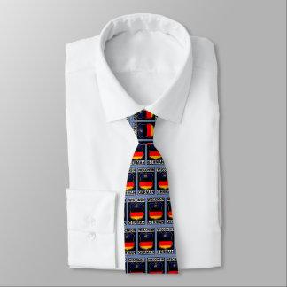 Wisconsin German American Neck Tie