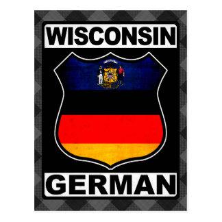 Wisconsin German American Post Card