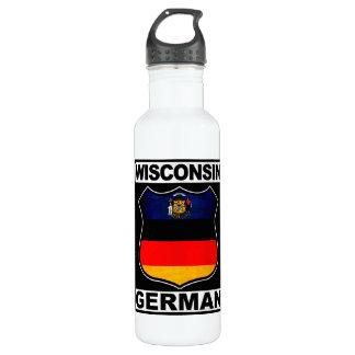 Wisconsin German American Water Bottle