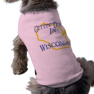 Wisconsin - Gettin' Down Tee