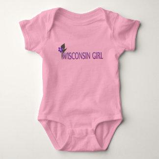 Wisconsin Girl  Wood Violet Infant T-shirt