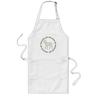Wisconsin Girl Woodland Doe Cook and Craft Apron