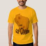 Wisconsin Got Cheese Mens Gold T-shirt