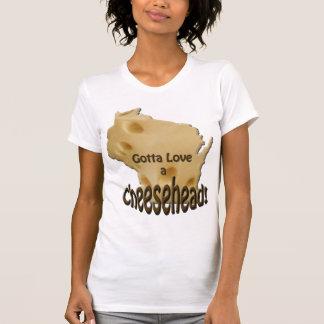 Wisconsin Gotta Love a Cheesehead T-shirt