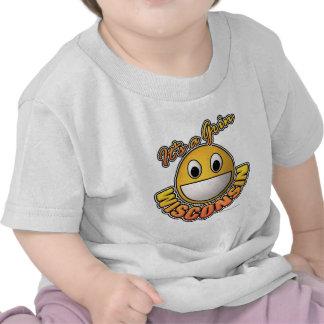 Wisconsin Grin Tee Shirt
