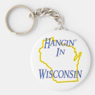 Wisconsin - Hangin' Keychains