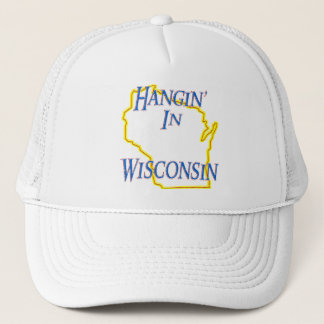 Wisconsin - Hangin' Trucker Hat