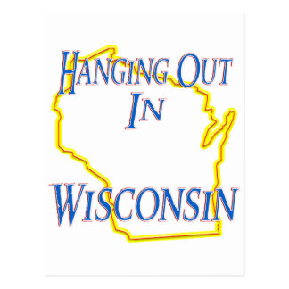 Wisconsin - Hanging Out Postcard