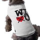 Wisconsin Hates You Pet Tee Shirt