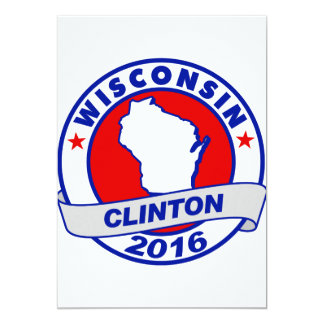 wisconsin Hillary Clinton 2016.png Card