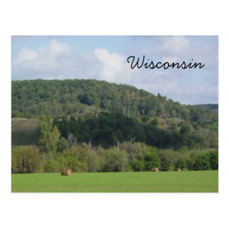Wisconsin Hills Postcard