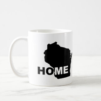 Wisconsin Home Away From State Mug or Travel Mug