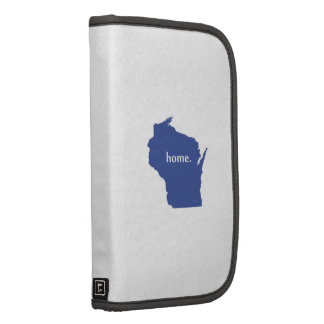 Wisconsin home silhouette state map planners