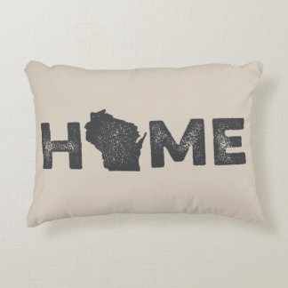Wisconsin Home State Love Pillow Accent Pillow