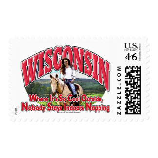 Wisconsin Horse Stamps