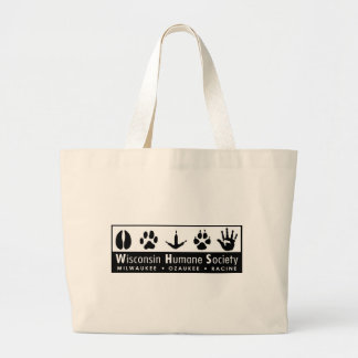 Wisconsin Humane Society Logo Canvas Bag