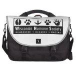 Wisconsin Humane Society Logo Commuter Bags