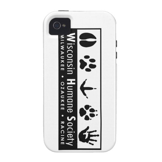 Wisconsin Humane Society Logo iPhone 4/4S Cover