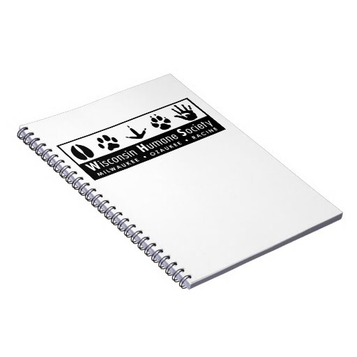 Wisconsin Humane Society Logo Notebooks