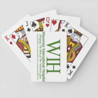 Wisconsin International Hospital Playing Cards
