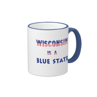 Wisconsin is a Blue State Mug