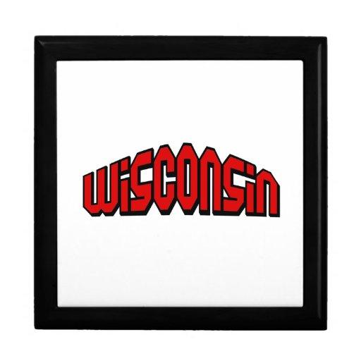Wisconsin Joyero Cuadrado Grande