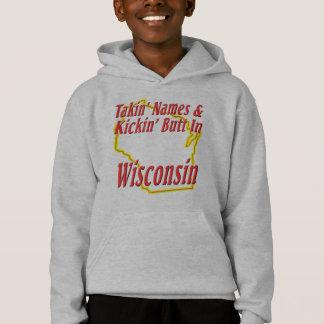 Wisconsin - Kickin' Butt Hoodie