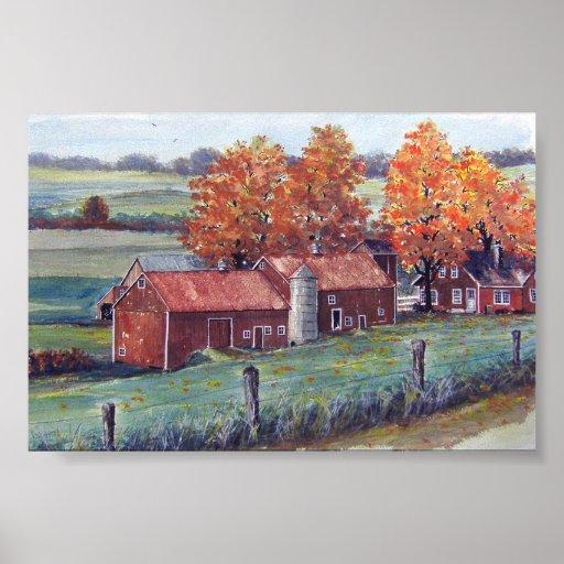 Wisconsin Landscape-poster