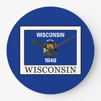 Wisconsin Large Clock