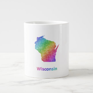 Wisconsin Large Coffee Mug