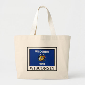 Wisconsin Large Tote Bag