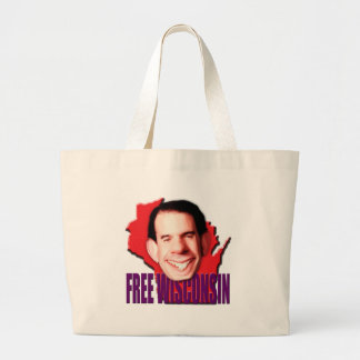 Wisconsin libre bolsa lienzo