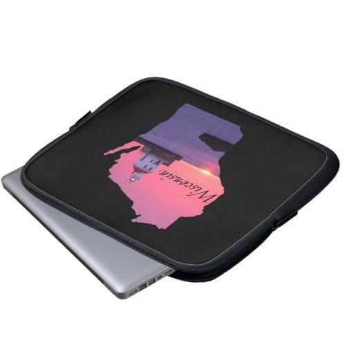Wisconsin Lighthouse Laptop Computer Sleeve