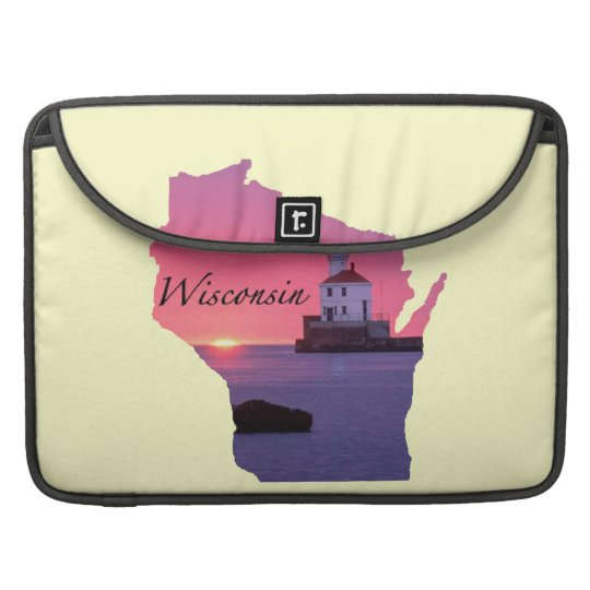Wisconsin Lighthouse MacBook Pro Sleeve
