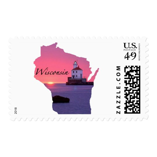 Wisconsin Lighthouse Postage