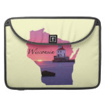 Wisconsin Lighthouse Sleeves For MacBooks