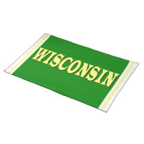 Wisconsin LL Cloth Placemat