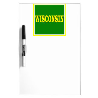 Wisconsin LL Dry Erase Board