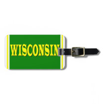 Wisconsin LL Luggage Tag