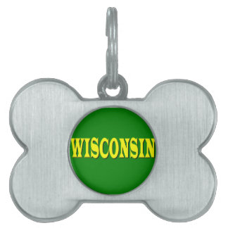 Wisconsin LL Pet Tag