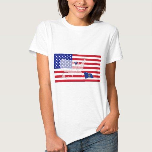 Wisconsin, los E.E.U.U. T-shirts