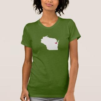 Wisconsin Love T Shirt