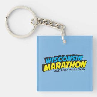 Wisconsin Marathon Post-Marathon Keychain