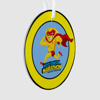 Wisconsin Marathon Post-Marathon Ornament