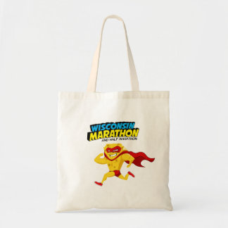 Wisconsin Marathon Race Day Tote Bag