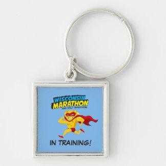 Wisconsin Marathon Training Keychain
