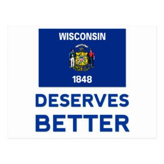 Wisconsin merece mejor tarjetas postales